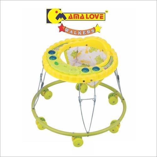 Mama Love Yellow Baby Walker