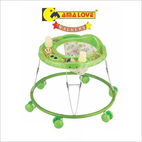 Foldable 6 Wheeler Baby Walker