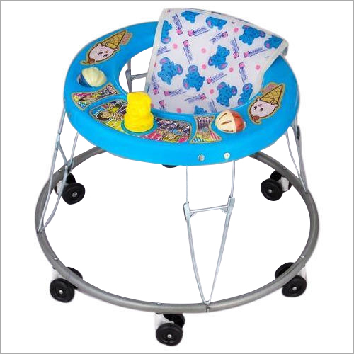 6 Wheeler Portable Baby Walker
