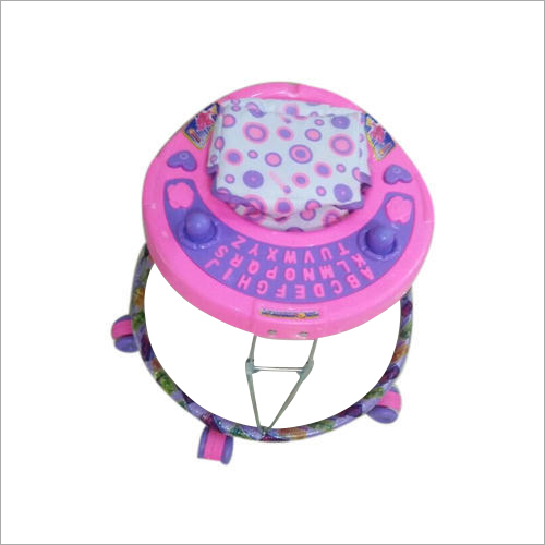 6 Wheeler Round Shape Baby Girl Walker