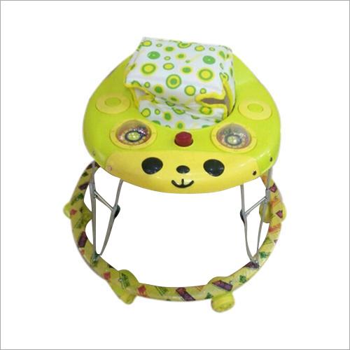 6 Wheeler Green Color Baby Walker