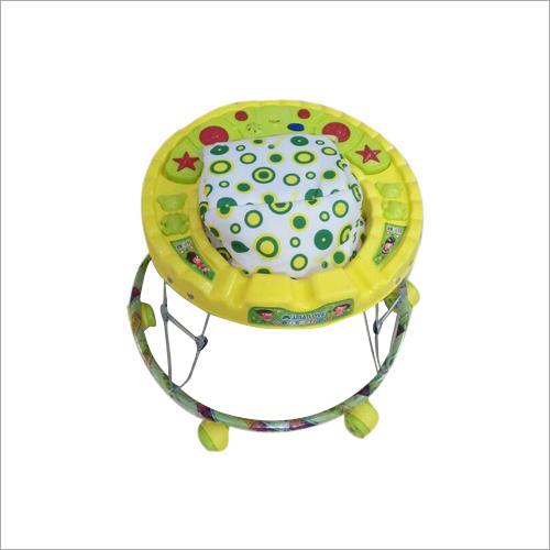6 Wheeler Portable Baby Girl Walker