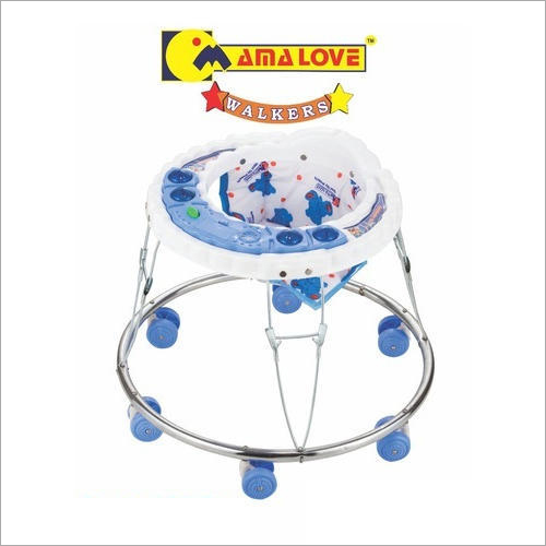 6 Wheeler Sky Blue Baby Walker