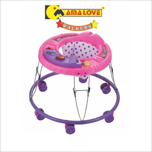 6 Wheeler Adjustable Baby Boy Walker