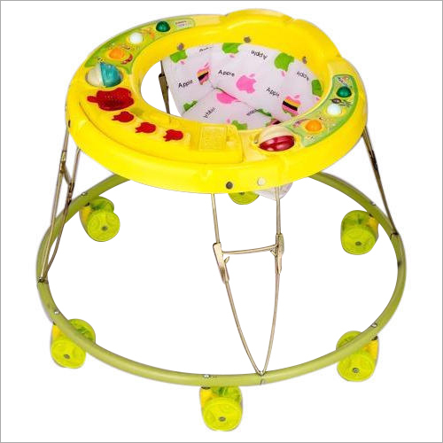 6 Wheeler Round Shape Baby Boy Walker