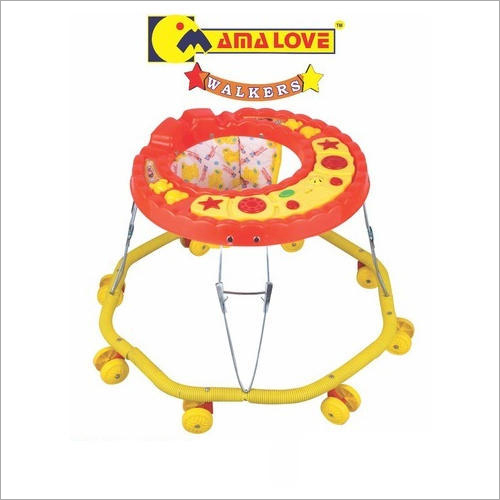 8 Wheeler Foldable  Baby Walker