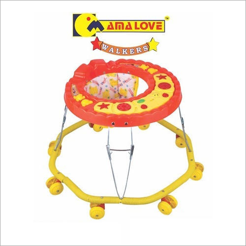 8 Wheeler Musical Baby Walker