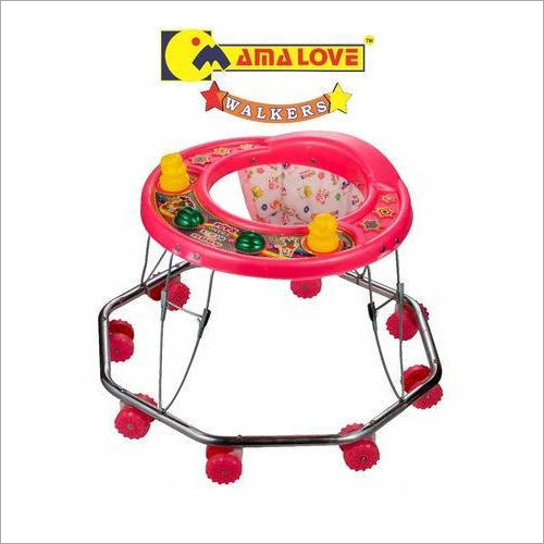 8 Wheeler Plastic Baby Walker