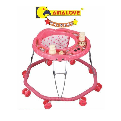 Portable 8 Wheeler Baby Walker