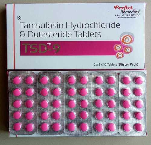 Tamsulosin 0.4 mg with Dutasteride 0.5 mg