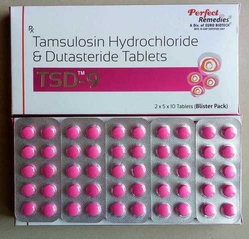 Tamsulosin 0.4 mg with Dutasteride 0.5 mg