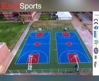 acrylic basketball court 5 layer systems