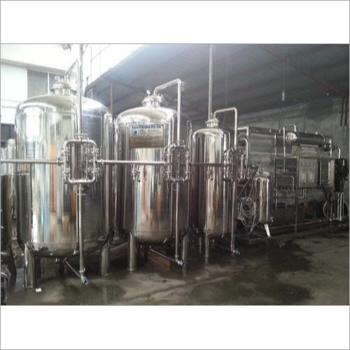 Industrial Mineral Water Plant