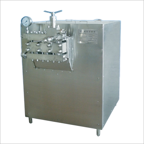 Stainless Steel Homogenizer Machine