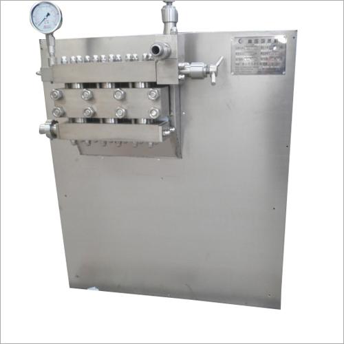 High Pressure Homogenizer Machine