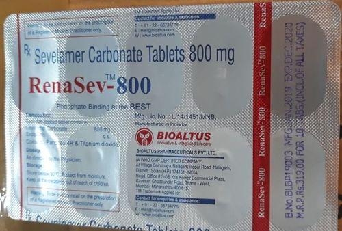 Sevelamer Carbonate 400 mg & 800 mg