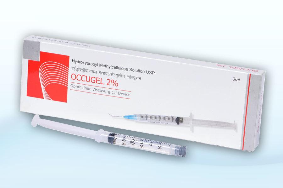 Hydroxypropyl Methyl Cellulose vial and pfs