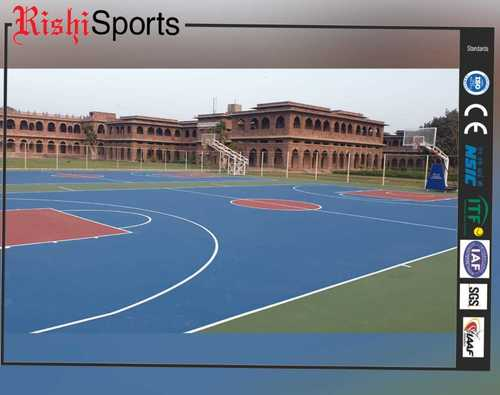 synthetic basketball court floorings manufacturers 5 layer systems