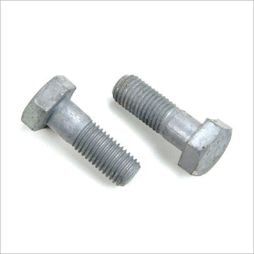 MS Galvanized Bolt