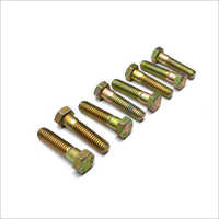 MS Half Thread Hex Bolts
