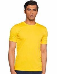 PUMA ROUND NECK YELLOW  TSHIRT