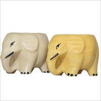 Ceramic Hathi Planter