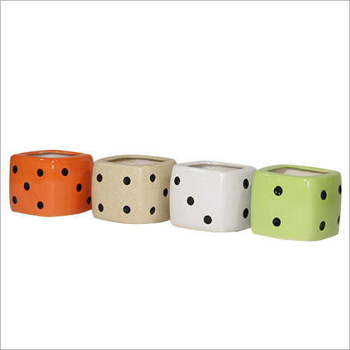 Dice Shape Planter