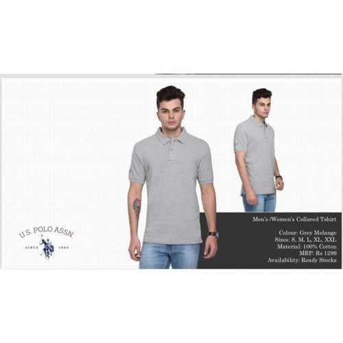 U.S. POLO GREY TSHIRT