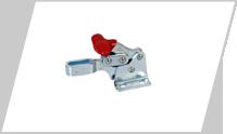 Forward handle toggle clamp
