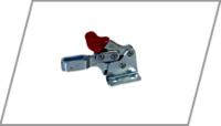 Forward handle toggle clamp