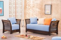 wooden atomic sofa