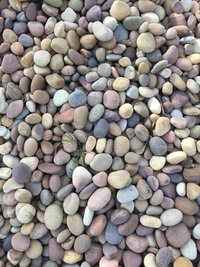 NATURAL PEBBLES MACHINE POLISHED
