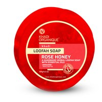 Rose Honey Loofah Soap