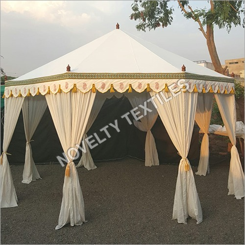 Outdoor Hexagonal Wedding Tent