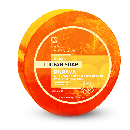 Papaya Loofah Soap