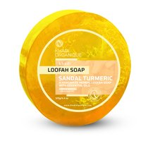 Khadi Sandal Turmeric Loofah Soap