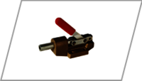 Centre base toggle clamp