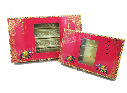 Rajwada 750 grm & 400 grm sweet box