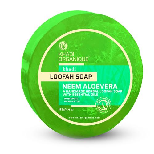 Neem Aloevera Loofah Soap