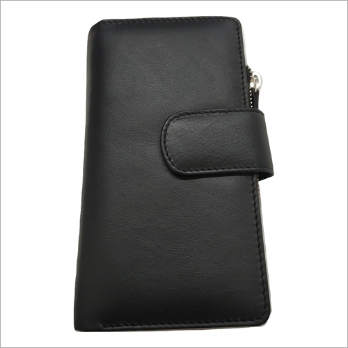 Ladies Black Leather Wallet