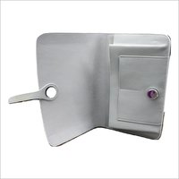 Ladies Grey Leather Wallet