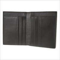 Mens Dark Brown Leather Wallet