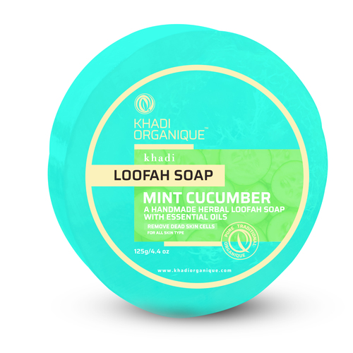 Mint Cucumber Loofah Soap