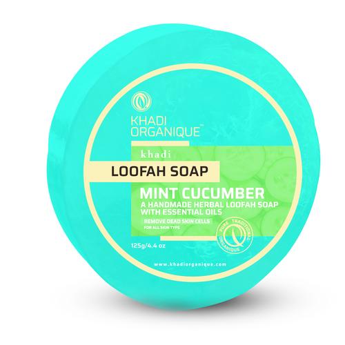 Mint Cucumber Loofah Soap