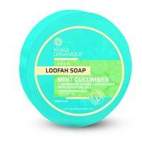 Khadi Mint Cucumber Loofah Soap