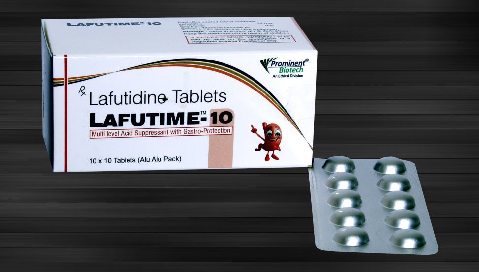 Lafutidine 10 Mg Tablets