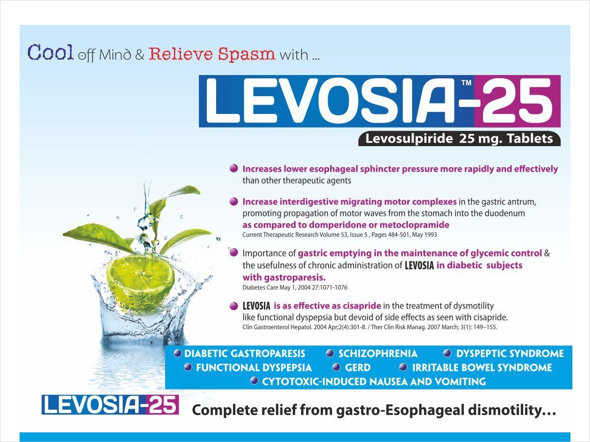 Levosulpiride 25 mg Tablets