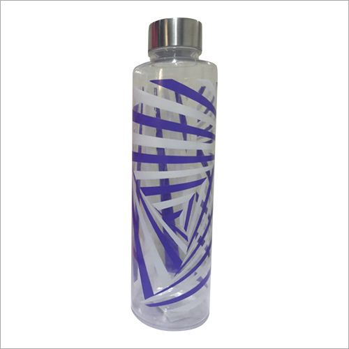 SS Cap Plastic Water Bottle