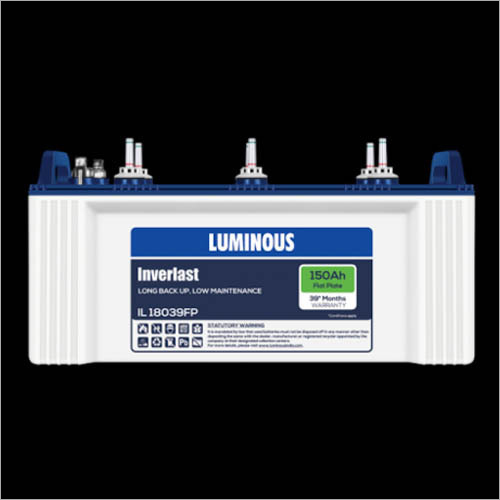 Flat Plate Luminous Batteries