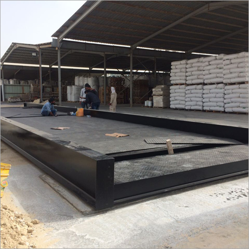 Truck Weighbridge Platform